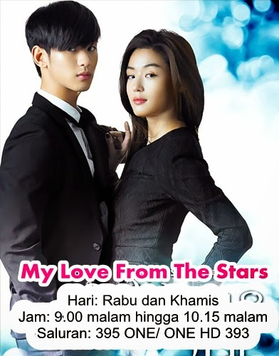 sinopsis My Love From The Stars, pelakon My Love From The Stars, ost My Love From The Stars, gambar My Love From The Stars
