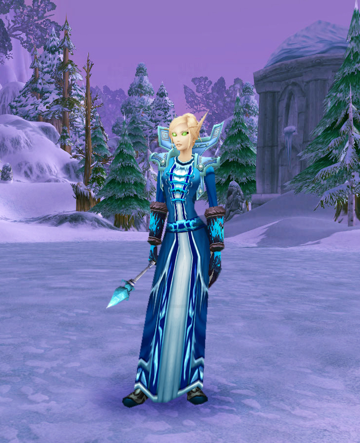 World of Warcraft transmogrification guide: Cloth winter set for ...