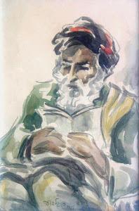 Homem lendo