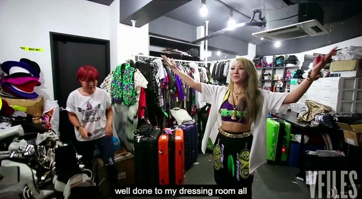 CL 2NE1 estilo