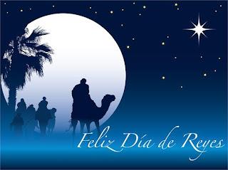 10 tarjetas Feliz Día de Reyes