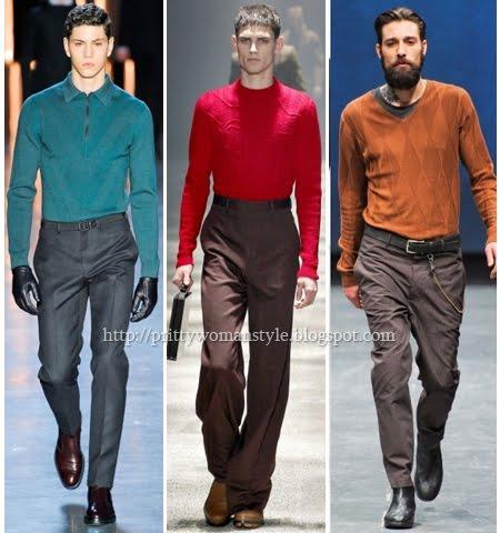 Тънки мъжки пуловери 2013