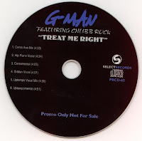 G-Man - Treat Me Right Featuring Chubb Rock (Promo CDM) (1996)