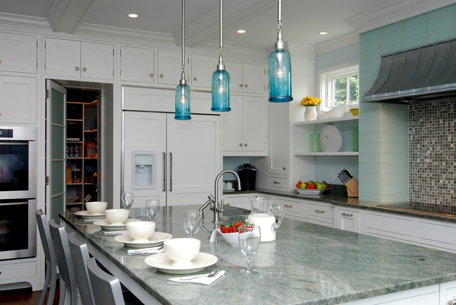 Turquoise pendant lighting lightingaqua pendant light nz blue large turquoise pendant lighting countertops which type is best for your kitchen turquoise pendant aloadofball Gallery