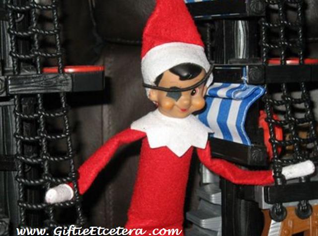 Elf on the Shelf Ideas, pirate