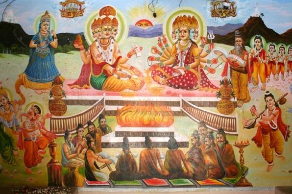 Devi Savitri ka Brahma Ji ko Abhishaap