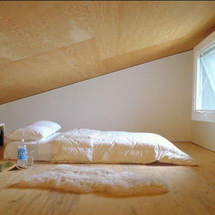 Con aire amatista decoraci n y dise o camas en el suelo - Camas en el piso decoracion ...