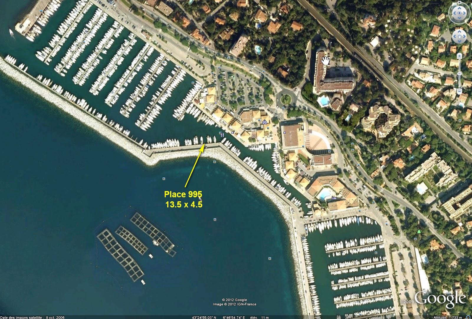 Voilier sun odyssey 44dl place de port - Restaurant port santa lucia saint raphael ...