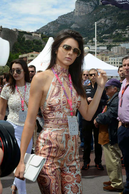 Kendall Jenner – F1 Grand Prix of Monaco in Monte-Carlo