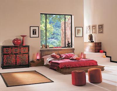 Dormitorios japoneses dormitorios con estilo for Dormitorio zen oriental