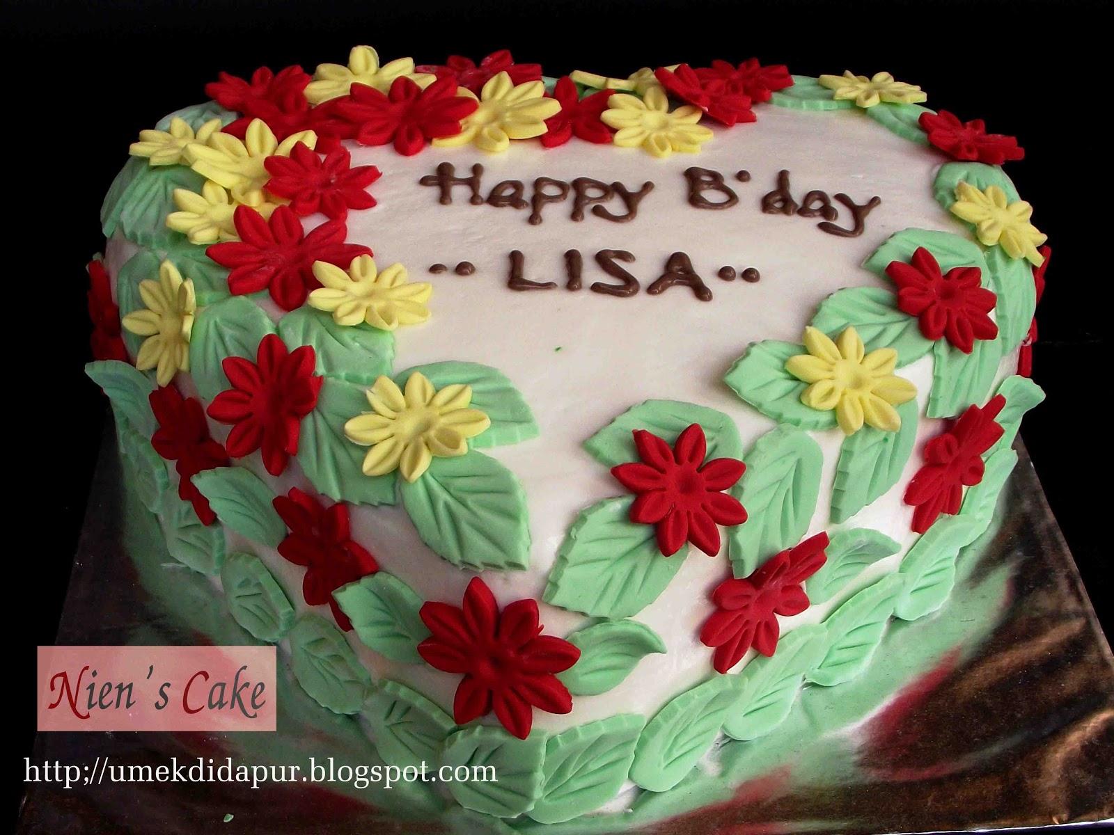 Happy Birthday Lisa Cake Brithday Cake