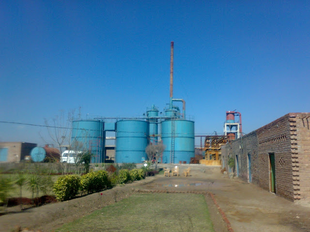 Sulfuric Acid Plant in Pakistan Zamindar Chemical 100 Metric ton daily production by contact process single absorption, between chiniot and faisalabad, near madina sugar mill, image by irfan ahmad plant operator, buy sulfuric acid from here