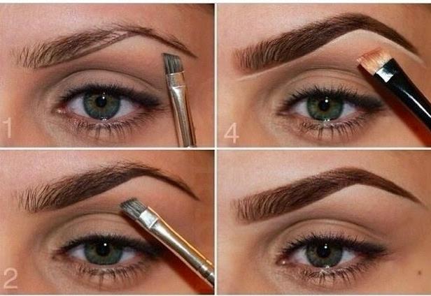 Como maquillar las cejas con sombra vikki petite blog for Cejas para cara cuadrada