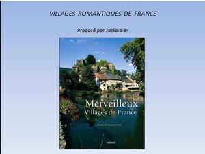 villages romantiques
