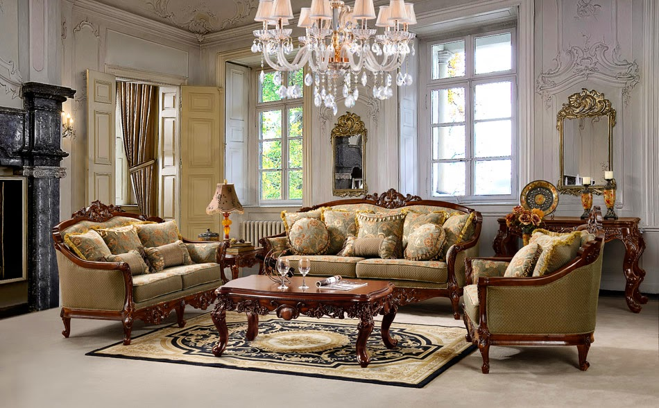 Living Rooms High Class Traditional Furniture
