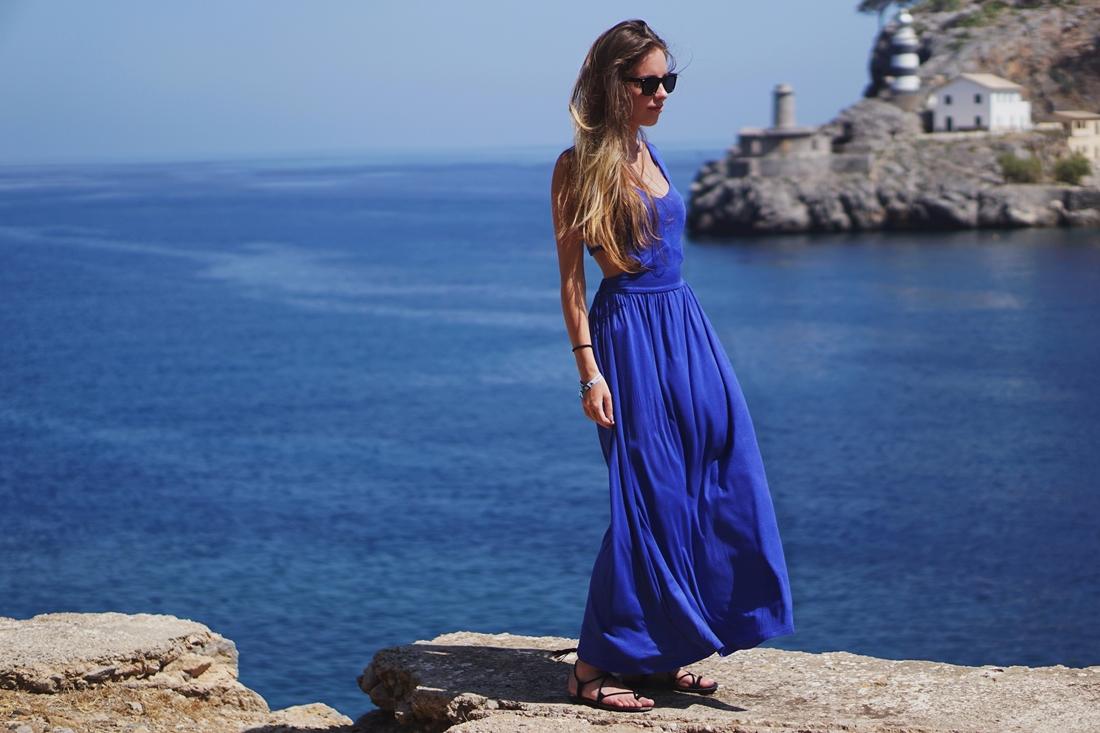 Hello Summer: Mallorca | Blue OOTD
