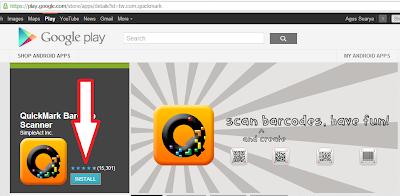 Download aplikasi QuickMark untuk android