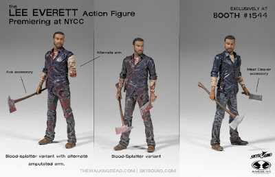 New York Comic Con 2015 Exclusive The Walking Dead Lee Everett Action Figure by McFarlane Toys