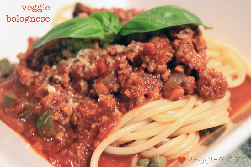 Easy vegetarian bolognese recipes