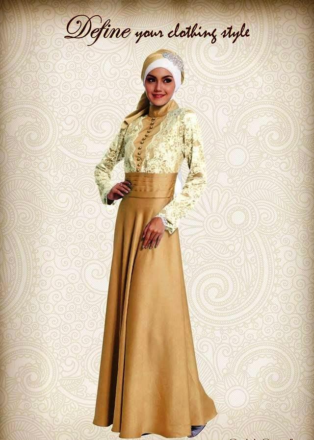 Gambar Model Baju Muslim 2015