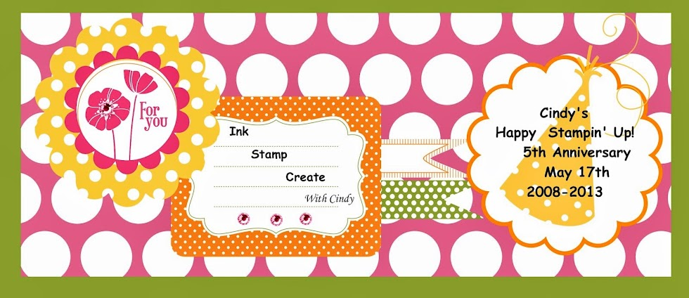 Ink Stamp Create   with Cindy