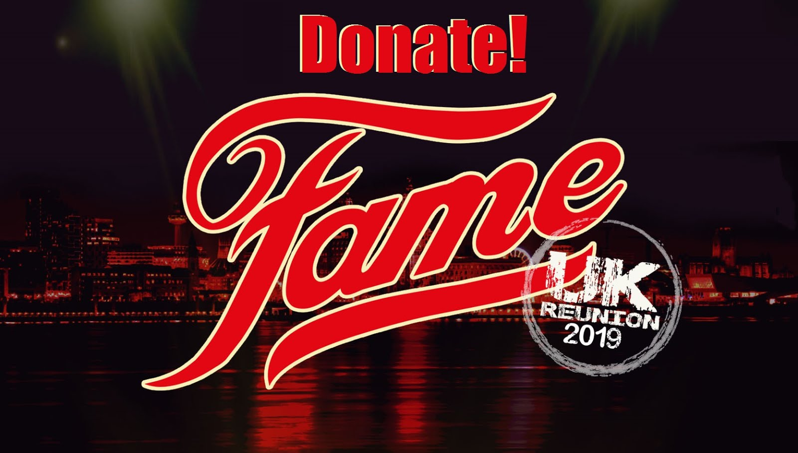 Donate to Fame U.K. Reunion