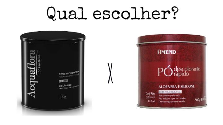 qual descolorante usar?