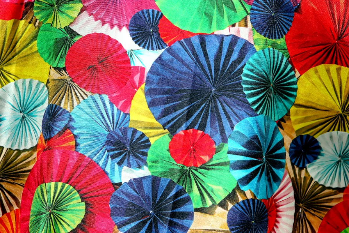 Beetle and paper fans