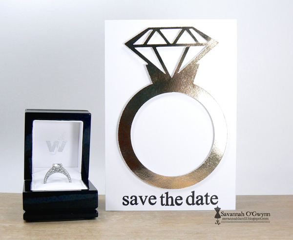 Savannah O'Gwynn Chickaniddy Diamond ring card