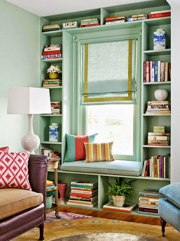 15 functional living room shelving ideas and units Built in shelves living room