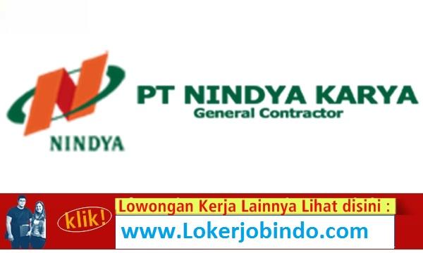 Lowongan Kerja Staf Keuangan PT. Nindya Karya (Persero) Tingkat SMK