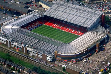 View Old Trafford Stadium