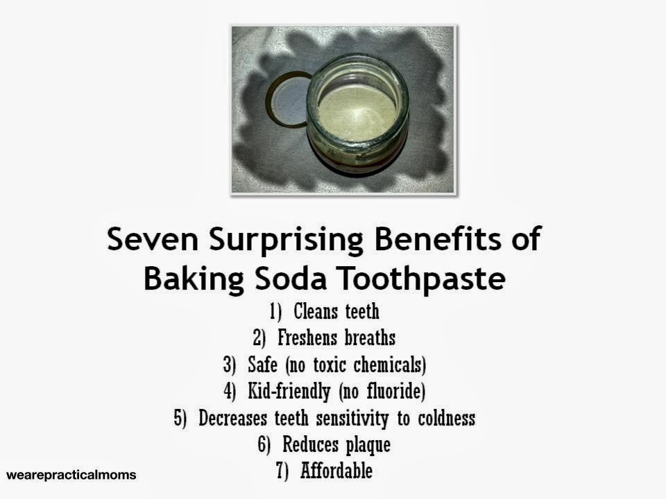 seven surprising benefits of baking soda toothpaste