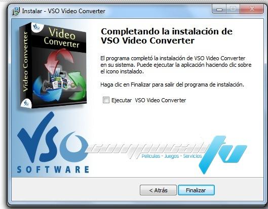 VSO Video Converter Español Versión 1. 1.0