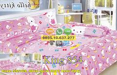 Harga Obral Sprei Motif Hello Kitty Jual