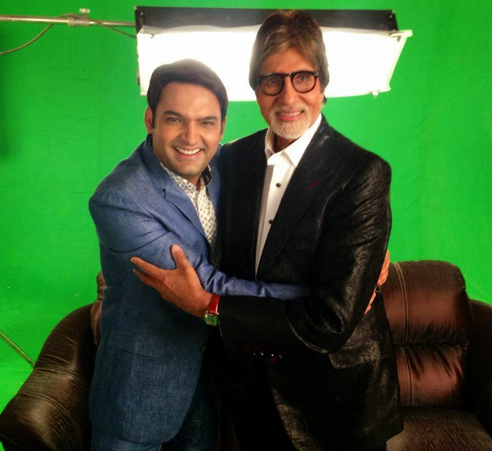 Amitabh Bachchan on Comedy Nights With Kapil