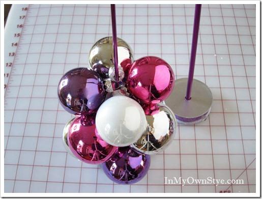 Как сделать новогодние игрушки из шаров
