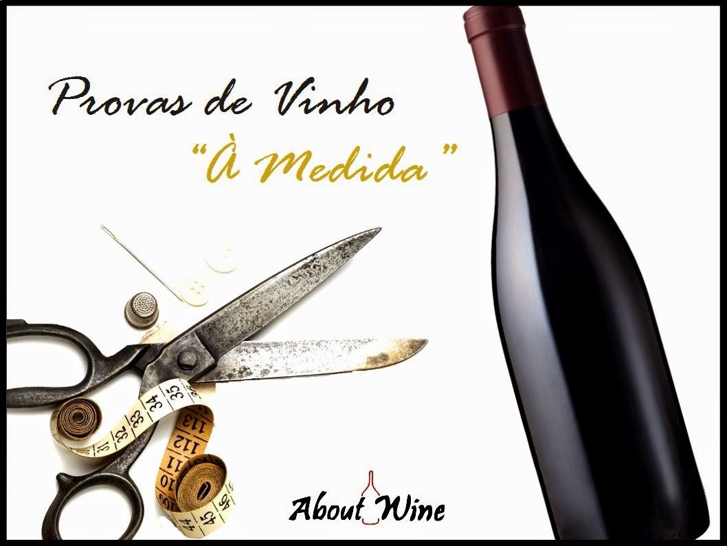 """Provas de Vinho """"À Medida"""""""