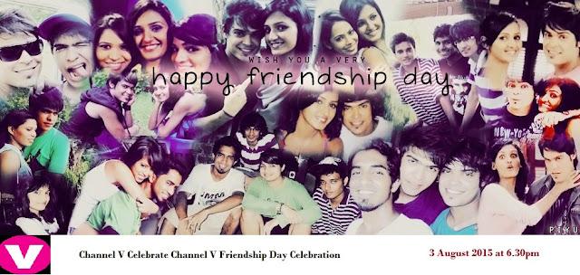 Channel V Friendship Day Celebration on 3 August 2015 | Kunwar Amar as Anchor