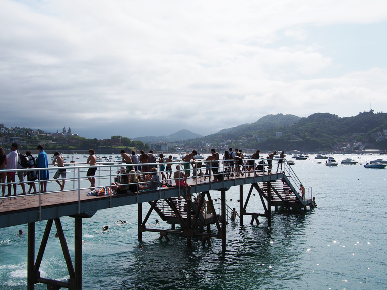 san sebastian swimming