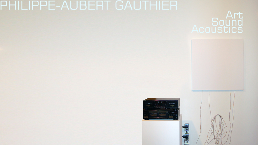 Philippe-Aubert Gauthier :: Art, sound, and acoustics