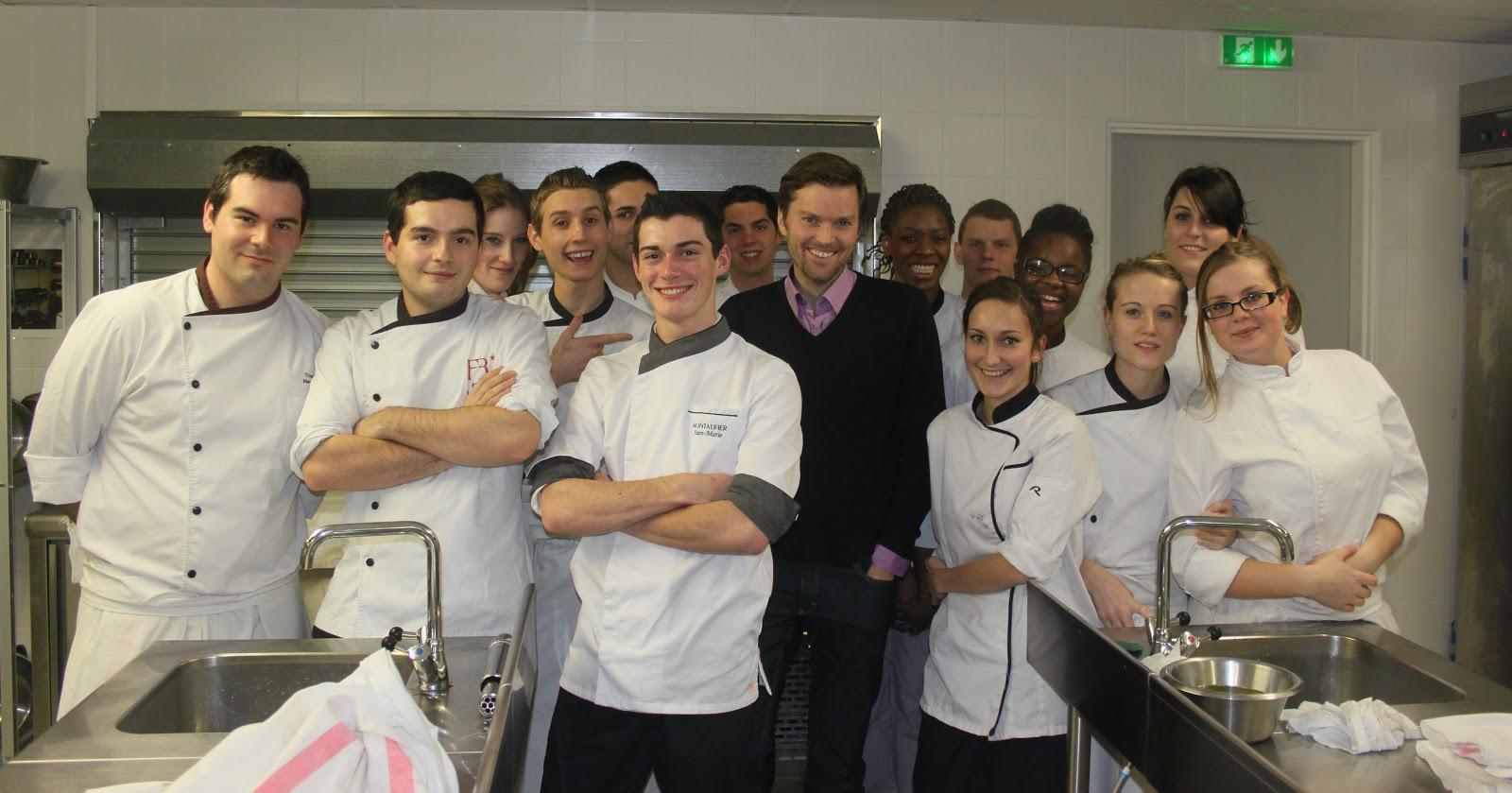 La cuisine de bernard visite du lyc e h telier rabelais for Professeur de cuisine