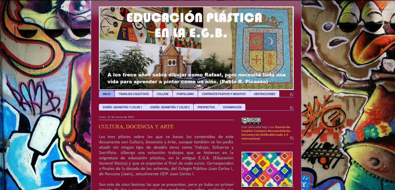 EDUCACIÓN PLÁSTICA EN LA E.G.B.