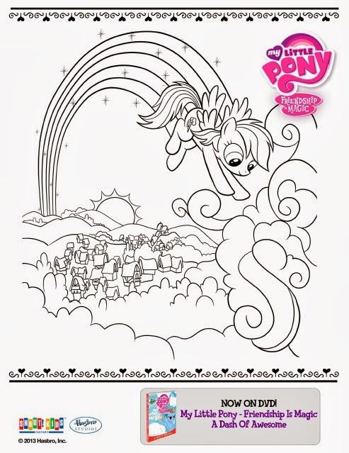 One Savvy Mom   NYC Area Mom Blog My Little Pony Free Printable