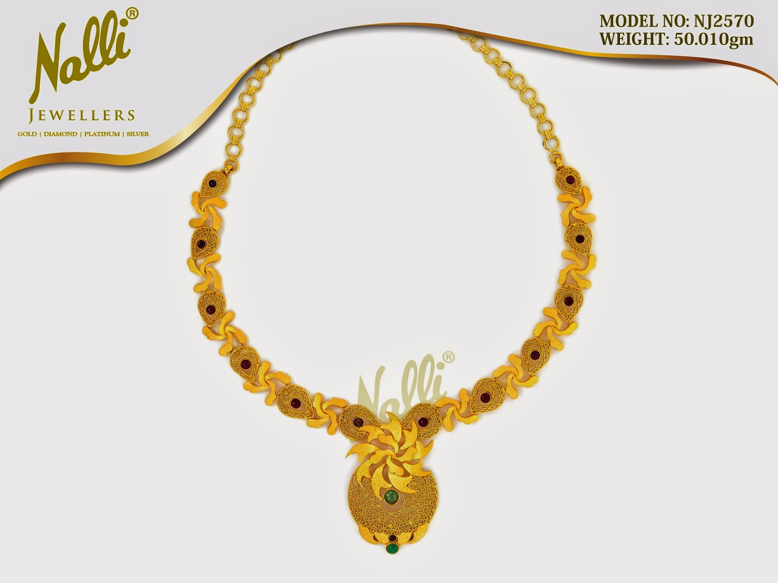 Latest Nalli Jewells Necklace models