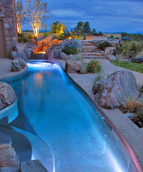 The best swimming pool design ideas home ideas decorating for Best home pool designs