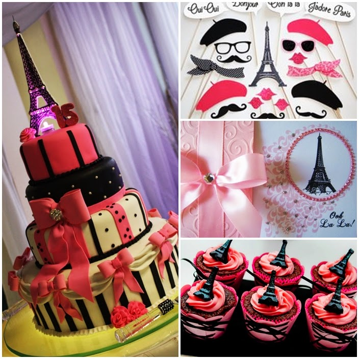 a night in paris party theme