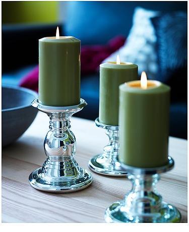 Ikea e momichan candele for Candele ikea