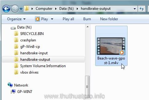 Cách chuyển đổi file MOV sang MP4, M4V hoặc MKV