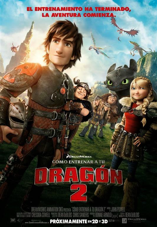 Segundo tráiler y cartel definitivo de 'Cómo entrenar a tu dragón 2'. MÁS CINE. Making Of. Noticias
